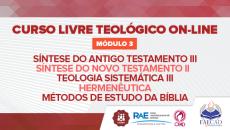 Curso Livre Teológico - Módulo 3 2021.1
