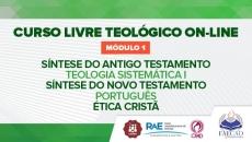 Curso Livre Teológico - Módulo 1 2020.2