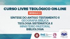 Curso Livre Teológico - Módulo 2 2021.1